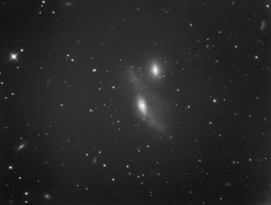 AT10RC Test Image at WSP - NGC 4438, Binned 2x2